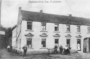 Postkarte Gaststätte Graf. Poststempel 24.09.1906